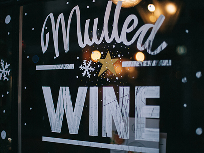 ホットワイン 看板
