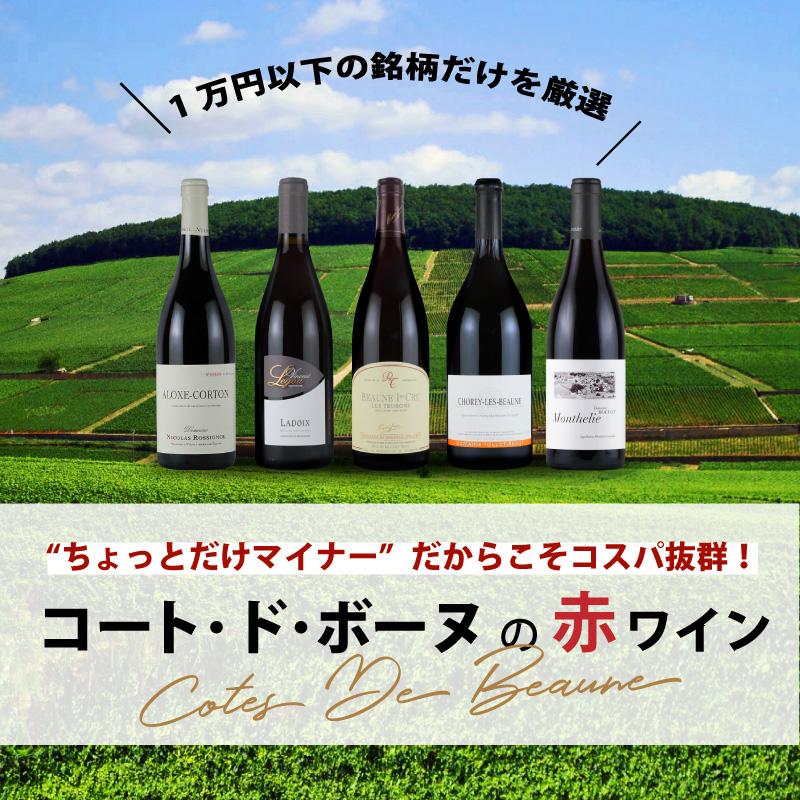 1万円以下で手に入るおすすめ銘柄を厳選!コート・ド・ボーヌの赤ワイン