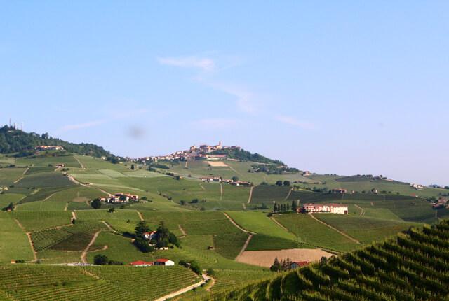 ピエモンテの風景