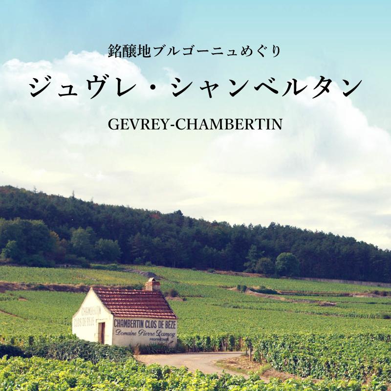 ジュヴレ・シャンベルタン - 銘醸地ブルゴーニュめぐり