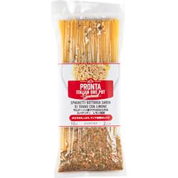 サルデーニャ産マグロのからすみスパゲッティ レモン風味-0