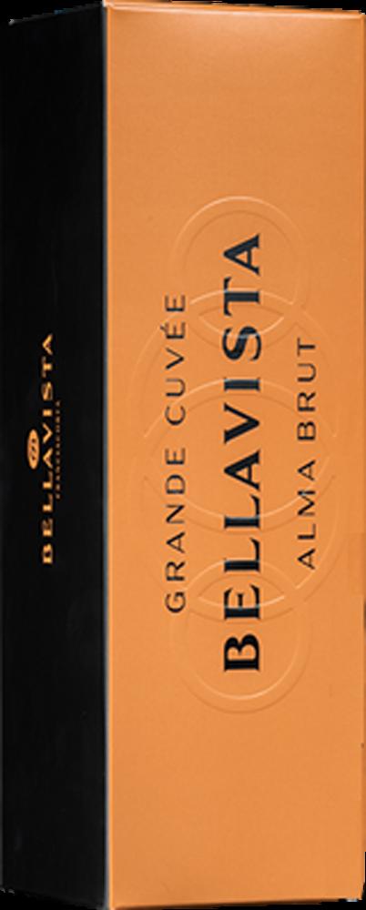 フランチャコルタ・グランデ・キュヴェ・アルマ・ブリュット [ボックス付] [ハーフボトル]-2